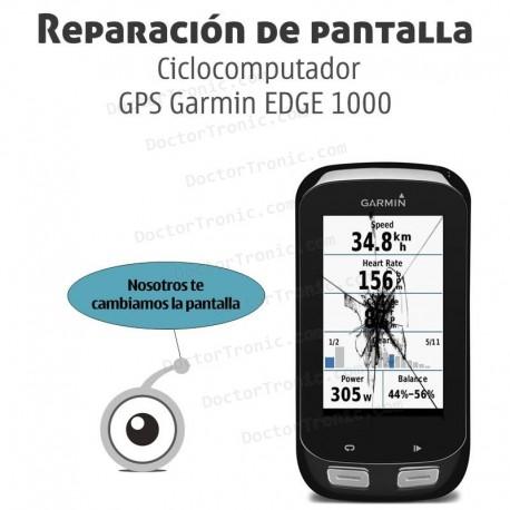 Cambio LCD GPS Garmin EDGE 1000