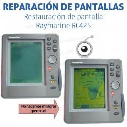 Reparación problemas de imagen Raymarine RC425