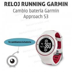 Cambio batería GPS Garmin Approach S3