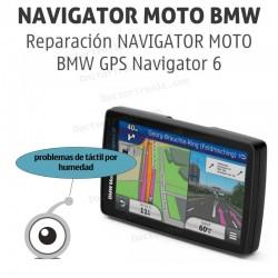 Reparación NAVIGATOR MOTO BMW GPS Navigator 6 (problemas de táctil por humedad)