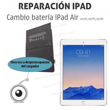 Cambio batería iPad Air 2 A1566