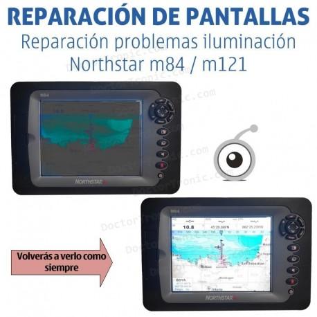 Reparación problemas iluminación Northstar m84 / m121