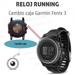 Reparación caja GPS Garmin Fenix 3
