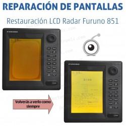 Reparación problemas de imagen Radar Furuno 851