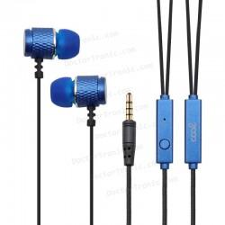 Auriculares 3,5 mm COOL Metalizado Stereo Con Micro