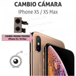 Cambio cámara trasera iPhone XS / XS Max