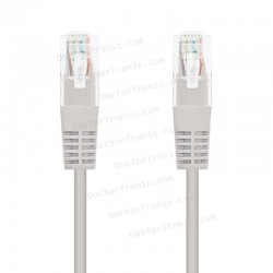 Cable de Red RJ45 CAT6 UTP Cat.6 10/100/1000 Gris (10m)
