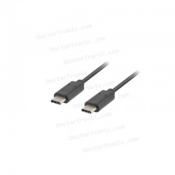 Cable USB Compatible Universal TIPO-C A TIPO-C (0.5 Metro)