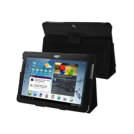 Funda Samsung Galaxy Tab 2 P5100/5110 10,1 pulg Piel Negra