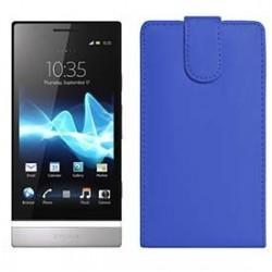 Funda Piel Exclusiva Sony Xperia P LT22i