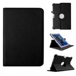 Funda Samsung Galaxy Note 10.1 pulg Piel Negro (Soporte)
