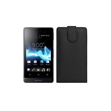 Funda Piel Exclusiva Sony Xperia Go ST27 (colores)