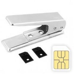 Cortador Tarjetas SIM a Micro Sim + 2 Adaptadores