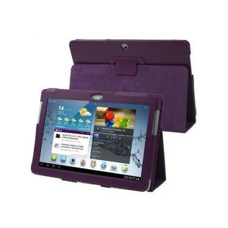 Funda Samsung Galaxy Tab 2 P5100/5110 10,1 pulg Piel Violeta