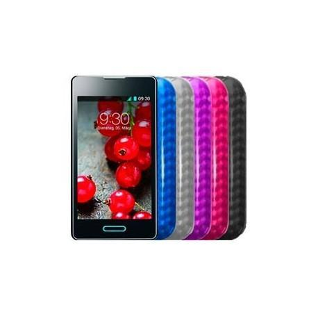 Funda Silicona LG E460 Optimus L5 II (colores)