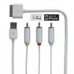 Cable TV Audio-Video iPhone 4/3G/3Gs/4s/iPod