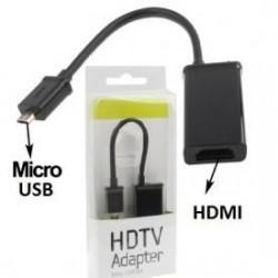 Cable Micro-Usb a HDMI Compatible con MHL