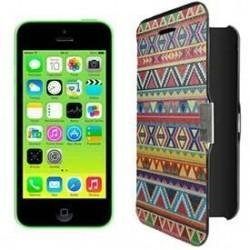 Funda Flip Cover iPhone 5C dibujos