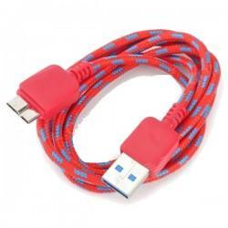 Cable de datos USB 3.0 macho a Micro 9 pines