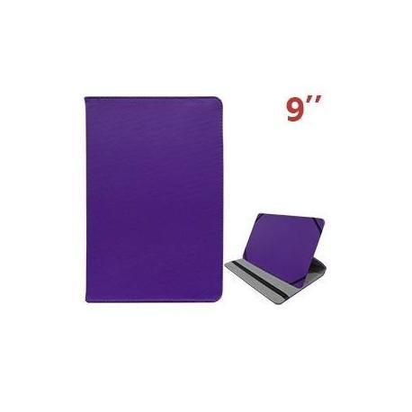 Funda Ebook / Tablet 9 pulgadas Polipiel (lila)