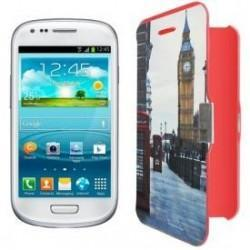 Funda Flip Cover Samsung i8190 Galaxy S III Mini