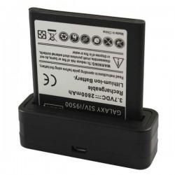 Cargador de baterías externo USB para el Samsung Galaxy S IV