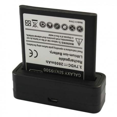 Cargador de baterías externo USB para el Samsung Galaxy Note 2 / II N7100