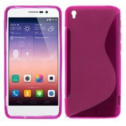 Funda Silicona Huawei Ascend P7 (colores)