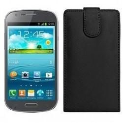Funda Piel Exclusiva Samsung i8730 Galaxy Express Azul