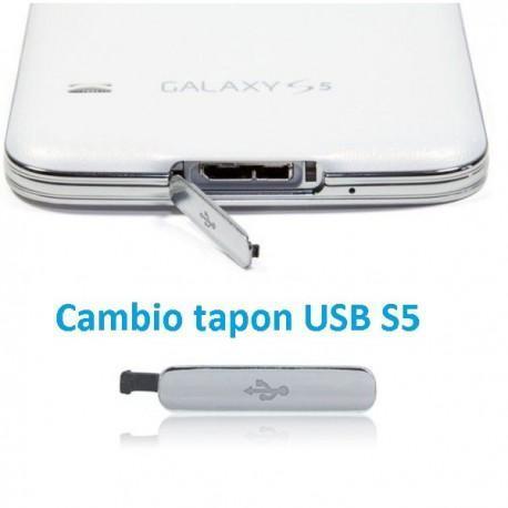 Cambio tapón USB Galaxy S5 i9600/G900F