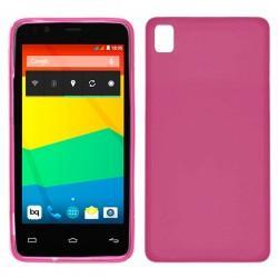 Funda Silicona BQ Aquaris E4 (colores)