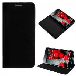 Funda Flip Cover LG P710 Optimus L7 II (negro)