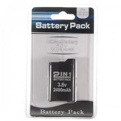 Batería recargable para PSP 3000/2000 de 3,6V y 2400mAh
