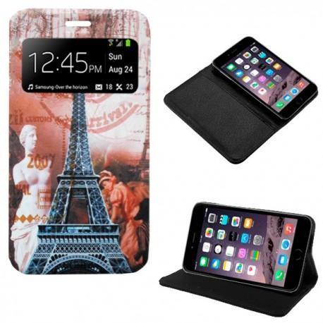 Funda Flip Cover iPhone 6 (Dibujos)