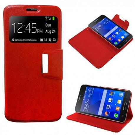 27b607dc91b Funda Flip Cover Samsung G355 Galaxy Core 2 (colores) - Doctor Tronic