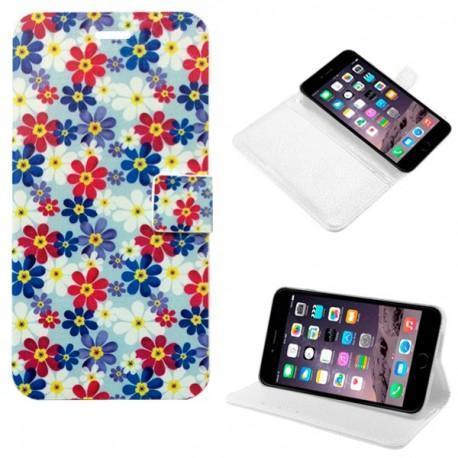 Funda Flip Cover iPhone 6 Plus (Dibujos)