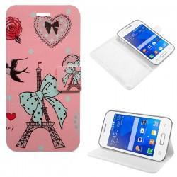Funda Flip Cover Samsung G130 Galaxy Young 2 (dibujos)