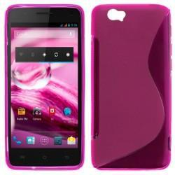 Funda Silicona BQ Aquaris 5.7 (colores)