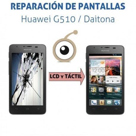 Reparación pantalla LCD y táctil Huawei G510 / Orange Daytona
