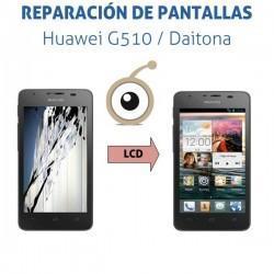 Reparación pantalla LCD Huawei G510 / Orange Daytona