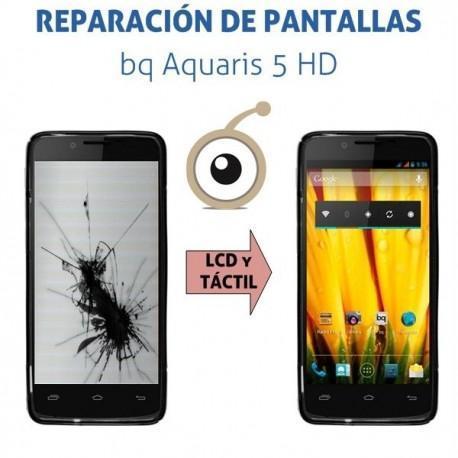 Cambio de pantalla completa bq Aquaris 5 HD