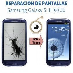 Reparación Pantalla Galaxy S III I9300
