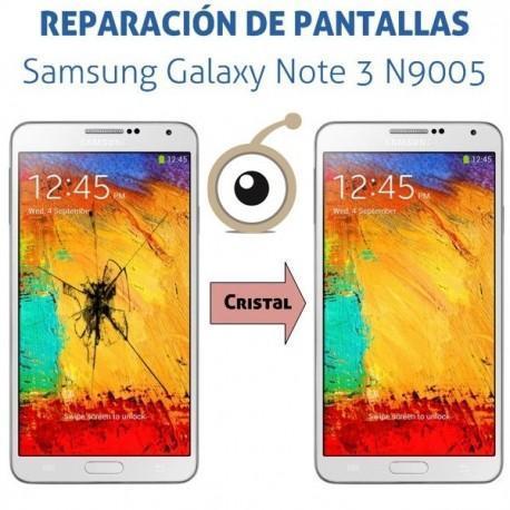 Reparación cristal Samsung Galaxy Note 3 N9005