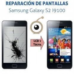 Reparación pantalla Galaxy S2 I9100