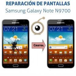 Reparación cristal Samsung Galaxy Note N7000/i9220/N9700