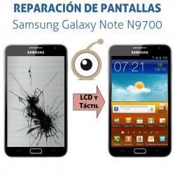 Reparación pantalla Samsung Galaxy Note i9220/N9700