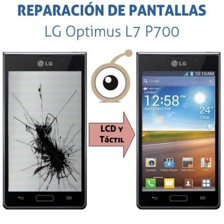 Cambio pantalla completa LG P700 Optimus L7