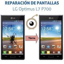 Cambio pantalla táctil LG P700 Optimus L7