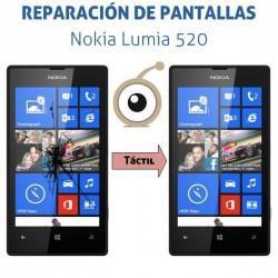 Reparación táctil Nokia Lumia 520