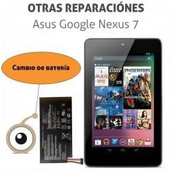 Cambio batería Asus Google Nexus 7